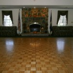 Fireside Room Dance Floor
